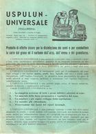 """5098 """"CO.FA. REPAPARTO AGRARIO DELLA COMPAGNIA FARMACEUTICA-USPULUN UNIVERSALE """" OPUSCOLO ORIGINALE - Italy"""