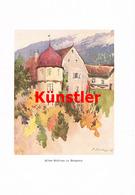 1223 F. Schrempf Altes Schloss Bregenz Vorarlberg Kunstblatt 1906 !! - Drucke