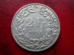 Suisse - 2 Francs 1914       Tres Belle - Suisse