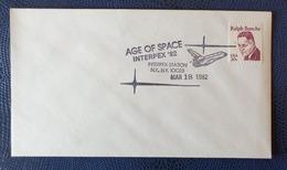 1982 - COVER - U.S.A. - NEW YORK - INTERPEX STA. - AGE OF SPACE, INTERPEX '82 - Collezioni
