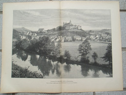 1226 Comburg Schwäbisch-Hall Dorfbild Großbild Druck 1902 !! - Unclassified