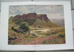 1227 Conrad Lessing Eifler Dolomiten 40 X 27 Cm Kunstblatt  1910 !! - Drucke
