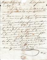 An 13 LUNEL - Lettre Pour MM. BALGUERIE & Cie Négociants à AGDE - Documents Historiques