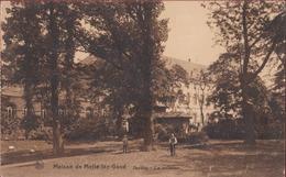 Melle Institut Asile Caritas Gesticht Maison De Melle Lez-Gand Jardin La Pelouse (In Zeer Goede Staat) - Melle