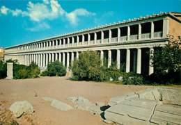 Grèce - Athènes - Athína - Portique D'Attalos - Carte Neuve - Voir Scans Recto-Verso - Grecia