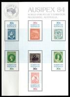 Australia 1984 Ausipex International Stamp Exhibition MS MNH (SG MS945) - 1980-89 Elizabeth II