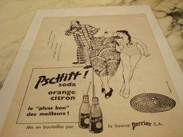ANCIENNE PUBLICITE LE PLUSS BON LIMONADE PSCHITT CUVEE 1956 - Affiches