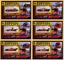 AUTOMOBILES - FERRARI F1 - 6 BLOCS FEUILLETS DE 1 VIGNETTE NEUVE ** - Automobile - F1