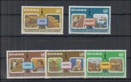 Ghana Minerals Minéraux Or Bauxite MNH - Minéraux