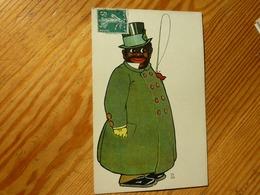 CPA 1908 Homme Noir Cocher Avec Haut De Forme   Theo Stroefer's Kunst Série 440 Numéro 5 - Altre Illustrazioni