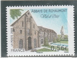 FRANCE 2009 ABBAYE DE ROYAUMONT YT 4392  NEUF  ---- - Nuevos