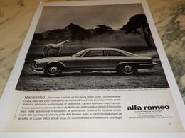 ANCIENNE PUBLICITE NOUVEAU SUCCES ALFA ROMEO  1963 - Voitures