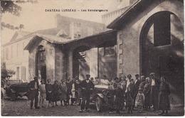CPA 33 Gironde - Les Vendangeurs - CHÂTEAU LUSSEAU (AIGUEMORTE-LES-GRAVES) Non écrite (Lot 290) - Vines