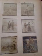 Album 100 Photos Albumines Format 6/6,fin 19 Eme - Albums & Collections