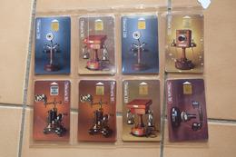 Lot Des 24 Telecartes Collection Historique Telephones - Telefone
