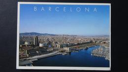 Spain - Barcelona - Air View - Um 1994 - Look Scans - Barcelona
