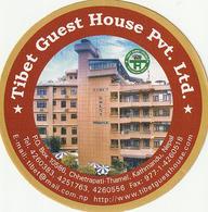 Pegantina Sticker Autocollant / TIBET GUEST HOUSE PVT. LTD - KATHMANDU - NEPAL - Pegatinas