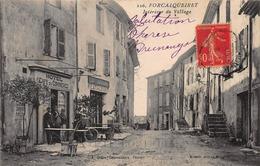 CPA FORCALQUEIRET - Intérieur Du Village - Altri Comuni