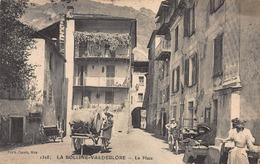 CPA LA BOLLINE-VALDEBLORE - La Place - Autres Communes