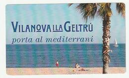 Pegantina Sticker Autocollant / VILANOVA I LA GELTRU - PORTA AL MEDITERRANI - Pegatinas
