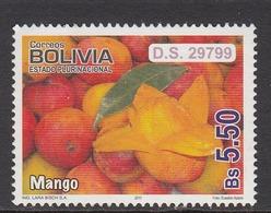 2011 Bolivia Mango Fruit  MNH - Bolivia