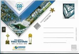 ARGENTINA POSTAL STATIONERY SOCCER CLUB GIMNASIA Y ESGRIMA DE LA PLATA  FUTBOL SOCCER - Enteros Postales