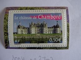 France 2004 - La France à Voir : Le Château De Chambord (n°3703 YT), Neuf Avec Gomme D'origine, Voir Scan - Francia