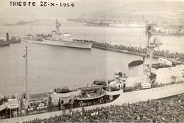 TRIESTE 26 - X - 1954 - VIAGGIATA - Trieste