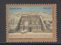2010 Brazil Egyptology Ancient Ruins  Complete Set Of 1 MNH - Ongebruikt