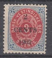 +D3275. Danish West Indies 1902. AFA 18By. MH(*) - Deens West-Indië