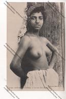 CPA Collection SCENES ET TYPES : Jeune Mauresque Aux Seins Nus - Afrique