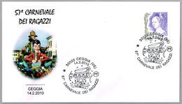 57 CARNAVAL INFANTIL. Ceggia, Venezia, 2010 - Carnavales