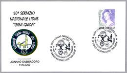Servicio Nacional De PERROS-GUIA - GUIDE-DOGS. Lignano Sabbiadoro, Udine, 2009 - Handicap