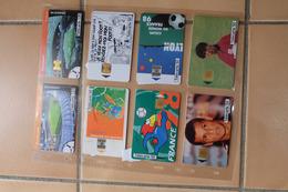 Lot De 8 Telecarte  France  98 - Sport