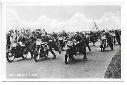 Carte-photo...Assen...(pays-bas)...moto...start (départ)...350 Cc T.T...animée...1948... - Sport Moto