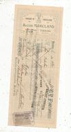Mandat, Fabrique De Coutellerie , A.Marcland,THIERS,1905 , 2 Scans ,frais Fr :1.65 E - Bills Of Exchange