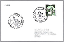 700 Años Muerte Del PAPA CELESTINO V (1209-1296). Ferentino, Frosinone, 1996 - Papas