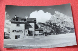 Belluno Albergo Passo Falzarego E Sasso D' Istria + Timbro NV - Italia