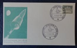 1963 - COVER -  MUNCHEN, GERMANY - JAHRESTAGUNG DER WGLR - Collezioni