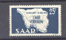 07100  -  Sarre  :  Mi  261 III    **   Type III - 1947-56 Allierte Besetzung