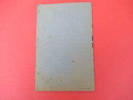 Livret/ Le Colombophile Moderne/ Dr Domicent/ Aviol/Laboratoires Appliqués/ NANTERRE/ Seine/ Vers 1930-1950  LIV173 - Animaux