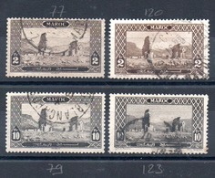 MAROC - YT N° 77-79 - Cote: 142,00 € - Maroc (1891-1956)