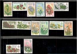 FALKLAND ISLANDS1968:Native Flowers  Michel 161-74mnh** Cat.Value 100Euros($112) - Falkland Islands