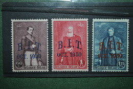 Belgique 1930 MH Complet - Belgium