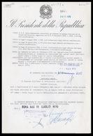 Decreto Presidenziale: Presidente Giuseppe Saragat / Ministro Mario Tanassi - 1970 - (46173) - Autografi