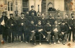 Militaria Militaire Carte PHoto De Soldats Blessés Divers Régiments à L'Hôpital De Toulouse En Avril 1915 - Personaggi