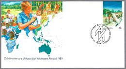 25th Anniv. AUSTRALIAN VOLUNTEERS ABROAD. SPD/FDI Fitsroy Vic 1989 - Medicina