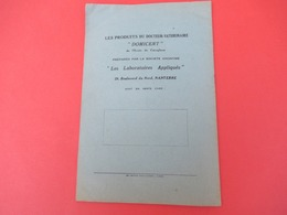 Livret/ Le Manuel Des éleveurs De LAPINS/ DOMICENT/ Aviol/Les Laboratoires Appliqués/ NANTERRE/ 1942    LIV174 - Dieren