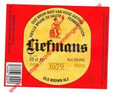 Oud Bruin Bier Van Hoge Gisting 25cl - Brasserie Liefmans Brouwerij Oudenaarde - Bière