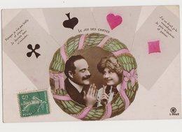 Carte Fantaisie Avec Photo D'un Couple / Le Jeu Des Cartes - Spielkarten